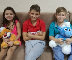 Наталья К. и 3 детей (проект профилактика соцсиротства)