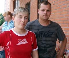 Света Фролова и Сережа Колесников