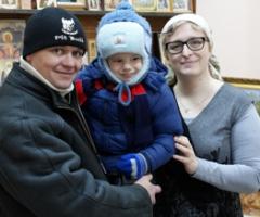 Семья Лапик (второй визит)