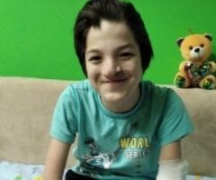 Наиль из Башкортостана. 15 лет. Из многодетной малоимущей семьи. Приехал на лечение в Москву.