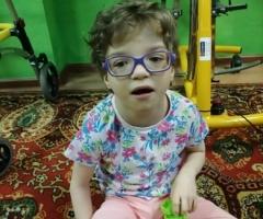 Настенька, сирота из Пензенской области. 9 лет