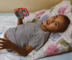 Рома из Башкирии, сирота, 9 лет. Проходит реабилитацию после тяжёлой операции.