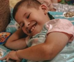 Саша из  Башкирии, сирота, 12 лет. Тяжёлая операция и реабилитация.