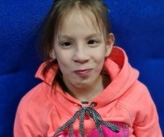 Наденька из Уфы, 11 лет. Сирота. Приехала на реабилитацию.