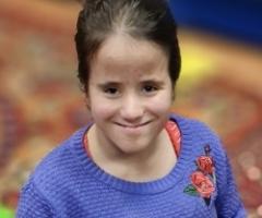 Луиза из Уфы, 13 лет. Сирота. Приехала на лечение и реабилитацию.