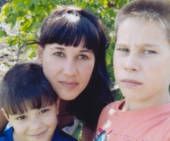С приходом весны наваливается много проблем, помогите! Ваганова Н.А., 3 детей, одинокая мама