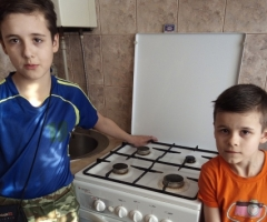Самостоятельно приобрести плиту мы не в состоянии!  Слышова Е.А., 3 детей