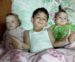 Наша семья оказалась в тяжелой жизненной ситуации, так как подработки в нашем регионе запретили! Баталова О.Ю., 3 детей