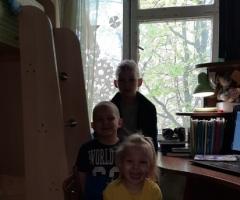 Нам необходимо заменить старое деревянное окно в детской комнате! Стребкова Е.Е., 5 детей