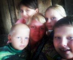 В это трудное время нашей семье нужна помощь! Борискина Т.М., 4 детей