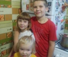 С тремя детьми очень тяжело без холодильника! Белоусова М.В., мать одиночка, 3 детей