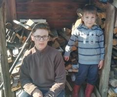 Приближается зима, а у нас заканчиваются дрова. Борновалова О.В., 9 детей (5 несовершеннолетних)