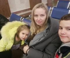 Нам очень нужна стиральная машина!  Регер Марина Васильевна, Московская обл., одинокая мама, 2 детей.