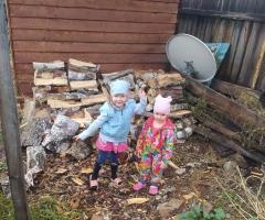 Помогите! Впереди зима, а у нас осталось дров только на пол месяца! Субботина Т.С., мать одиночка, 2 детей