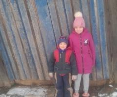У нас очень холодно, без вашей помощи нам не обойтись. Зверева Н.Н., мама одиночка, 2 детей.