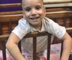 Ванечка, 5 лет. Приехал на обследование и лечение в Москву из Петроввальского детского дома.