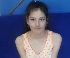 Жанна, 12 лет. Сирота из города Сокол. Приехала на обследование в Москву.