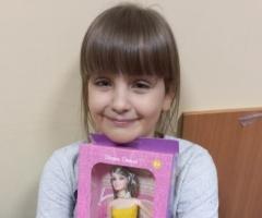 Риточка, 8 лет. Приехала на лечение из Смоленской области.