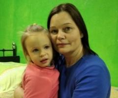 Анна с дочкой Витой