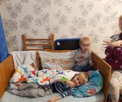 Маленькие дети подрастают и спать им не на чем. Ватлина Е.В., многодетные, 5 детей.