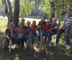 В столь тяжелое время ваша помощь будет очень ценна. Черныгова О. П., 9 детей.