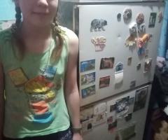 Очень вас просим, помогите, пожалуйста, в приобретении холодильника. Зырянова А. Ю., мама одиночка, 2 детей