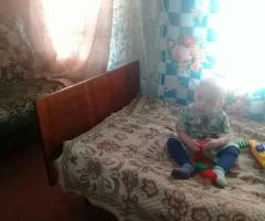 Детям не хватает спальных мест, нам нужна двухъярусная кровать! Першукова А.И., мама одиночка, 4 детей