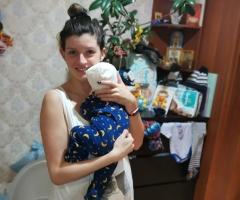 Я живу одна с маленьким ребенком и мне очень непросто приходится. Волкова Елена Валерьевна, Моск. обл., г. Жуковский, одинокая мама.