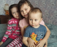 Простите нас пожалуйста, что мы частенько обращаемся к вам. Чурпинова Екатерина Валерьевна, многодетная семья, 4 детей, Кировская область.