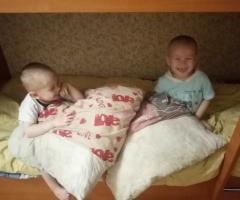 Наша большая семья нуждается в постельное белье. Гашкова К. В., многодетные, 3 детей.