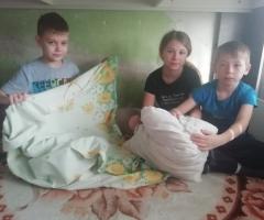 Зарплата совсем упала, ещё и дни сократили рабочие... Щукина Г. В., многодетная семья, 4 детей.