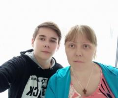 Сентябрь месяц болела ковидом, лежала в ковидном госпитале. Евсюкова Е.В., 1 ребенок.