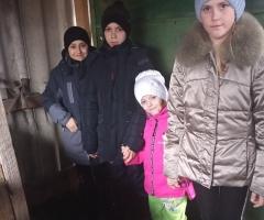 Средств в семье не хватает, живём на детское пособие! Косарева Е. В., 5 детей.