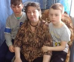 Будем ждать и надеяться! Рейкина О. В., одинокая мама, 2 детей.