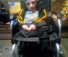 Наш сын - инвалид с детства, хрустальный мальчик. Клют О,А,, 2 детей, ребенок инвалид.