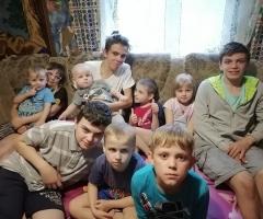 Прошу у вас помощи, так как муж потерял работу вовремя пандемии! Ларионова Н. В., 13 детей.