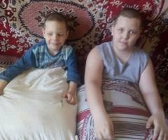 Наши совсем уже износились, очень просим нам помочь! Дорж А. М., 4 детей.