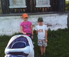 Я нахожусь в отпуске за ребенком, не работаю. Кодолова А.В., многодетная семья, 3 детей.