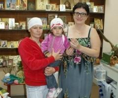 Наталья Нутаутас с дочерью