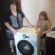 Спасибо за стиральную машинку от многодетной мамы Елены!