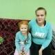 """Александра с дочерью Никой (проект """"профилактика социального сиротства"""")"""