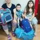 Наталья Нутаутас с детьми Лерой и Витей (проект дом милосердия)