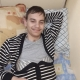 Лёша из Приморского Края, сирота, инвалид, лежачий. Приехал в Москву на лечение.