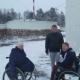 Сироты Света, Оксана, Света и Сергей из интерната на каникулы