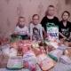 Дети были счастливы от такой помощи!