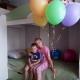 Именно сегодня, в день рождения нашей Аринки нам доставили и собрали кровать!