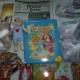 Новогодние подарки, крекер, печенье, пазлы, мягкие игрушки, литература детская