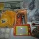 Новогодние подарки, чай, печенье, зефир,парфюмерный набор, доска для рисования