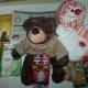 Новогодние подарки, сувениры, игрушка, крекер, пастила