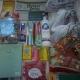 Новогодние подарки,шарики Новогодние, печенье, мармелад, школьные принадлежности, средства гигиены